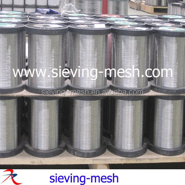 High Luster Stainless Steel Wire , Stainless Steel Fiber, Stainless Steel Yarn