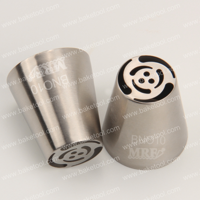 New High Quality stainless steel Large Russian tulip pastry nozzles#BNO10
