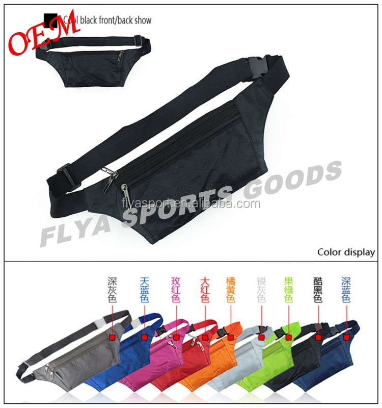 2018 high quality men sport belts for mobile/key/money fanny pack
