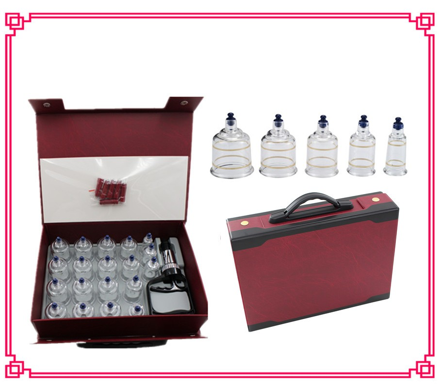 Wholesale high quality low price OEM hijama cupping set massage factory