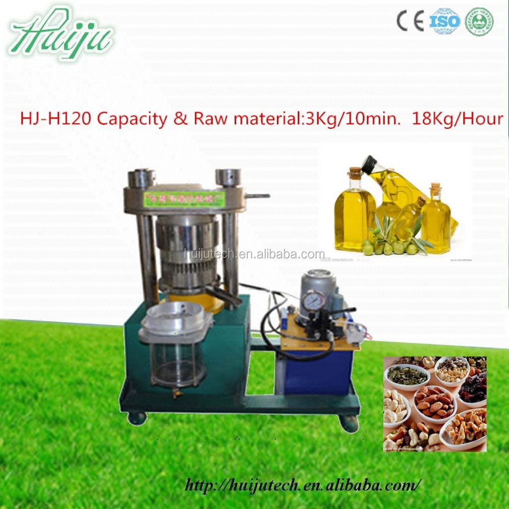 Best priced Hi-tech with high oil extraction speed almond oil press machine HJ-H120
