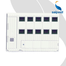 SAIP/SAIPWELL New Product 10 Gang SMC Compoud Materials Nonmetallic Box Polycarbonate Meter Box
