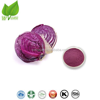 100% Natural Purple Cabbage Extract Powder with Anthocyanins And Vitamin A