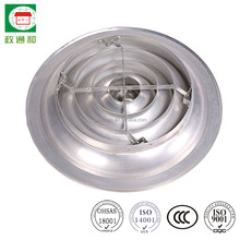 air conditioning ceiling diffusers/round air grilles round diffuser of aluminum materials