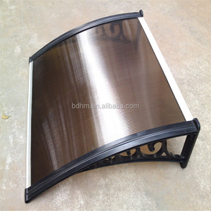 Aluminum plastic door canopy and window camper awnings