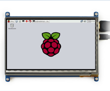 7 inch 1024x600 Capacitive Touch Screen LCD Display For Raspberry Pi 2 3 800*480 Available
