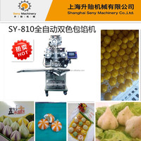stainless steel double color crystal buns forming processor