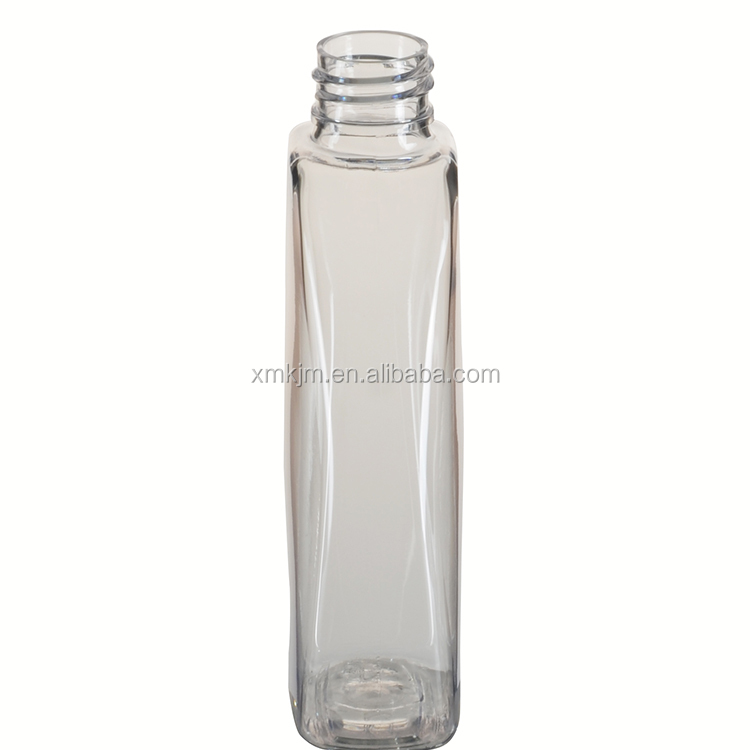 Best selling empty cosmetic skin toner clear plastic bottle
