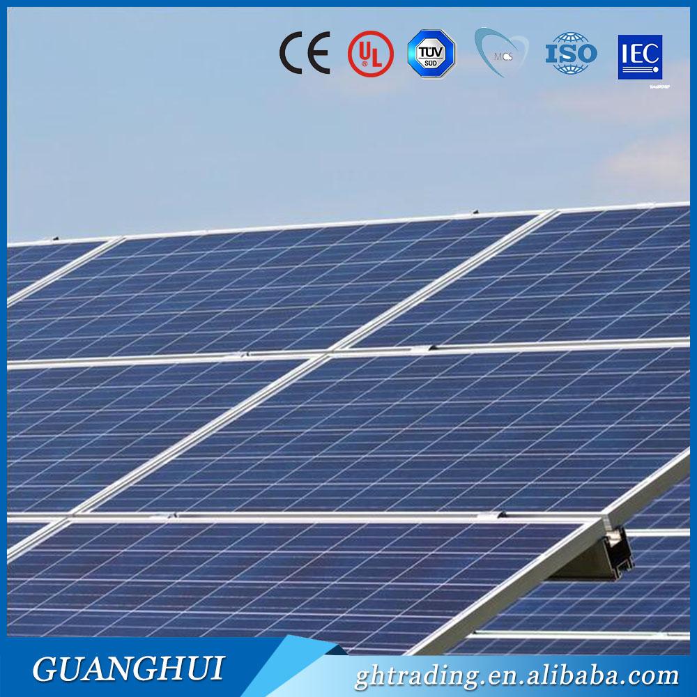 high quality chinese poly 100W solar cell 18v