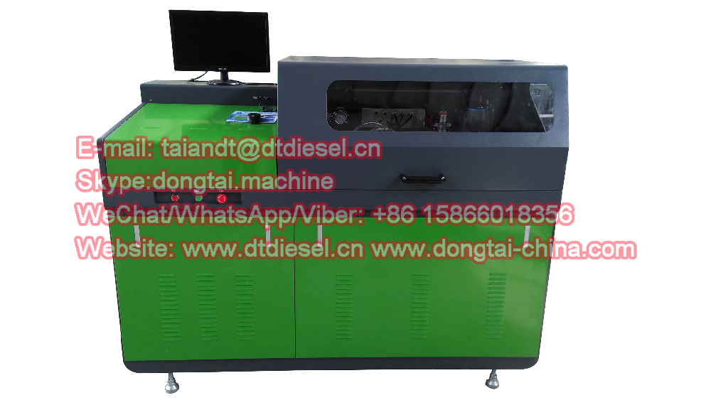 CR 815 Electronic Common Rail Diesel Injector Pump Test Bench / Tester 11KW