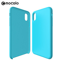 New Liquid Silicone Rubber Mobile Phone Case for iphone 8 X Original Back Cover Case