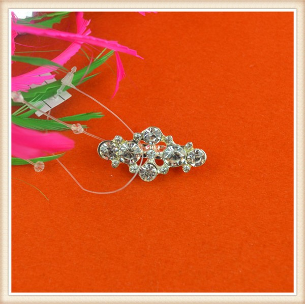 Fancy stone design crown brooch pin,brooch for garment /decoration on belt/dress made in China