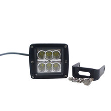 Good Performance 18W LED Work Light Motorcycle ATV 4 inch Waterproof Led Lights for cars