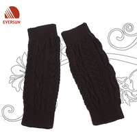 WOMEN LADY Acrylic Knitted winter warm leg warmer