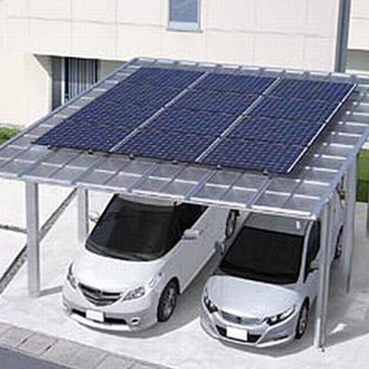 Pv Ground Carport Solar Mounting System