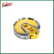 Motorcycle parts CNC aluminum Scooter Lock key cap accessories For Yamaha BWS 125