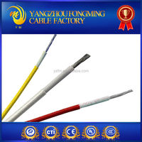 10KV 200C awm 3304 fiberglass braid silicone rubber insulation high voltage wire