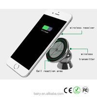 New Brand universal travel usb car charger Qi Wireless Charger Receiver Charging Transmitter for Qi-Enabled cellphone