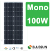 China Manufacturer high efficiency solar panels mono100w solar panel output