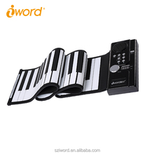 iWord Flexible keyboard electronic roll up piano for children's Christmas gift