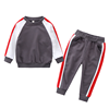 YY10274B Kids boys track suit wholesale autumn and spring new arrival 2 pieces children hoodie set