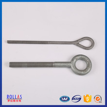 China manufacture online shopping galvanized stay rod with thimble clevis