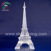 big size crystal eiffel tower model