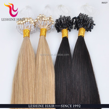 Best Prices Hot Selling Supper 1g/strand 25g/pack Quality Kinky Curly Micro Ring Loop Hair Extension