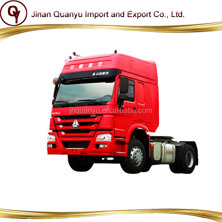Sinotruk Howo 4x2 336hp tractor truck low price for sale