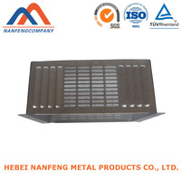 Metal Products Factory OEM Zinc Plate Radiator Heater Cover
