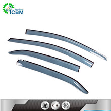 Competitive price door visors side wind deflector vent rain guard china factory window film car sun visor for COROLLA 14-15