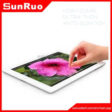 2.5D curved edge toughened glass film screen protector for ipad5, for ipad5 tempered glass