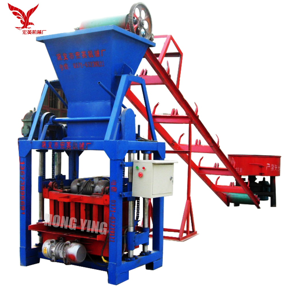 QMJ4-35D Ecological Brick Machine, Single Phase Brick Making Machine for Sale UK