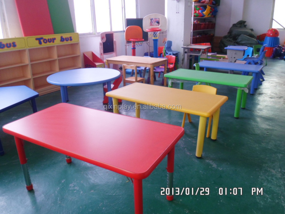 2016 Guangzhou Cheap Preschool Furniture Kindergarten Furniture Tables And Chairs Nursery School