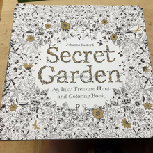 Johanna Basford Secret Garden ENGLISH version Coloring Book For Children and Adult Relieve Stress Kill Time