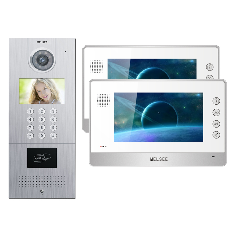2020 Custom apartment tcp ip door bell camera home intercom system