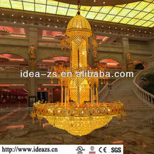 hotel light custom indoor lightings for factory roof hanging basket