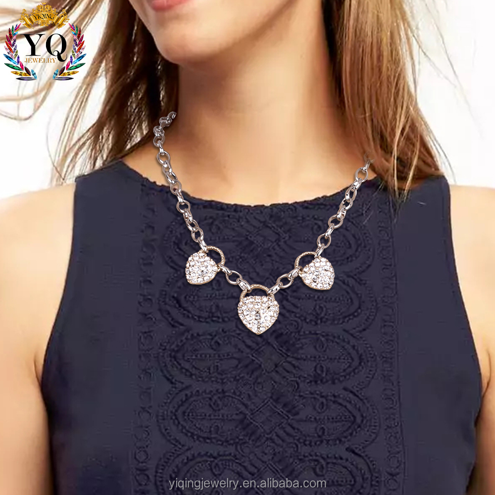 NYQ-00746 hot sell high quality latest elegant gold necklace designs girls