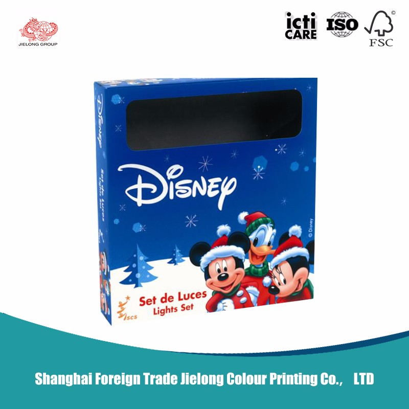 All Kinds Of Colors Toy Packaging Boxes
