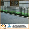 5 Sizes Loop Top Fence Panels Steel Powder Coated Black Security Lawn Garden fencing