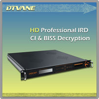 (DMB9020C) Tuner or ASI CI BISS decryption mpeg-2 sd decoder for encrypted channels
