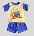 Baby boys summer graphic clothes set T-shirt + pants