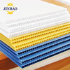 JINBAO red blue white black pink 2m 3mm hollow pp corrugated sheet