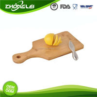 Customization SEDEX Approved Mini Cutting Board Bamboo