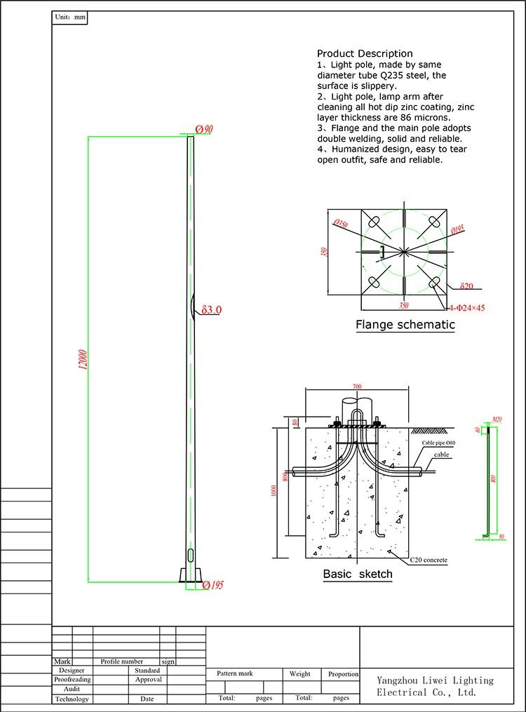 Ce Rohs Tuv Ccc Cqc Iso9001hot Dip Galvanization 3 12