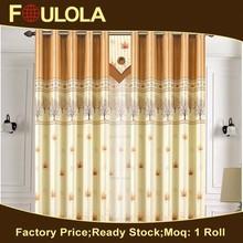 Curtains And Drapes,Durable Using Floral Fabric,Fabric Curtain
