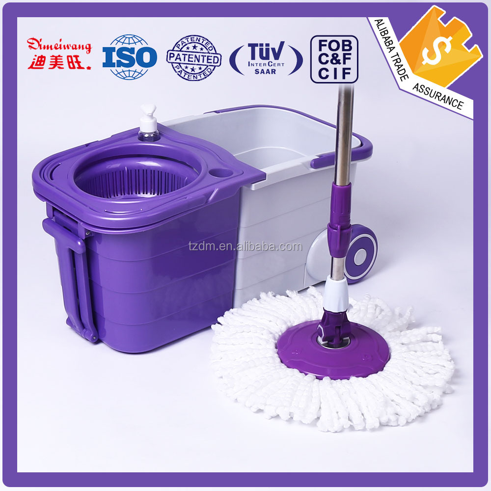 Easy life house cleaning foldable bucket mop