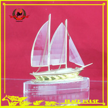 most popular boat crystal trophy