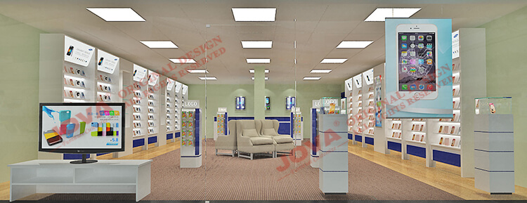 mobile phone store furniture