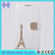 Best Selling Bling Eiffel Tower Phone Leather Case For BLU Tank 4.5,Factory Wholesale